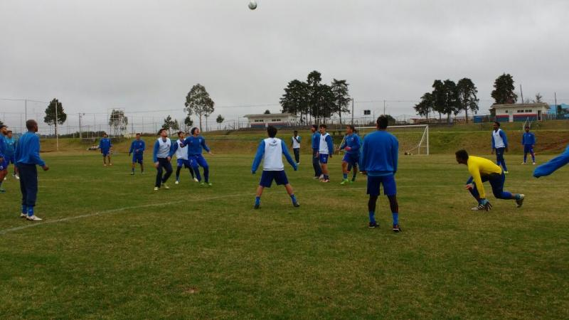 Paraná concentrado para o jogo contra o Ceará