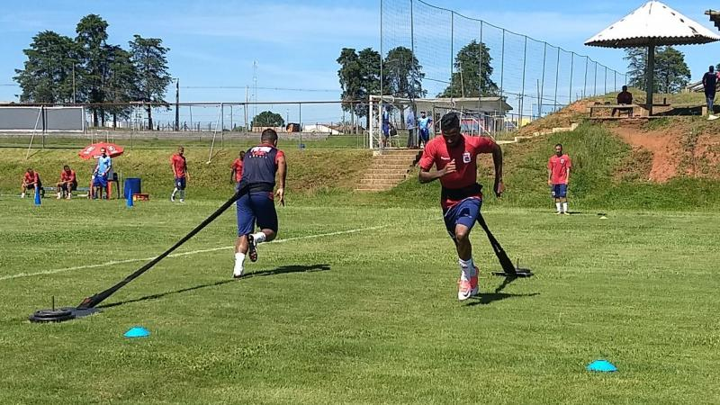 Paraná Clube segue firme na pré-temporada, de olho no Paranaense